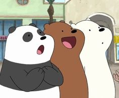 We bare bears uploaded by Ericka Lima on We Heart It Cartoon Profile Pictures, Bear Pictures, Bear Wallpaper, Cartoon Wallpaper, Bear Cartoon, Cute Cartoon, Pardo Panda Y Polar, We Bare Bears Wallpapers, We Bear