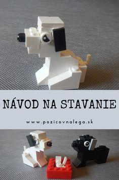 Videonávod + pdf návod aj so zoznamom kociek Lego, Legos