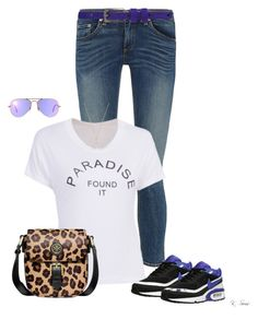 """Friday!!"" by ksims-1 ❤ liked on Polyvore featuring rag & bone, NIKE, Ray-Ban, Tory Burch, Gucci and Haider Ackermann"