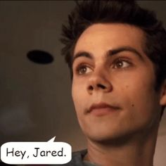 """Hey, Jared."" "" How you doing?"" *smirk*"