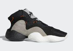 new style d1e9b 99aca adidas Crazy BYW Carbon CQ0993 Sneaker Art, Converse, Vans, Black Sneakers,  Shoes