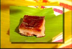 Zambales ginipa, a native delicacy of Sta. Cruz made of sweetened and dried rice grains