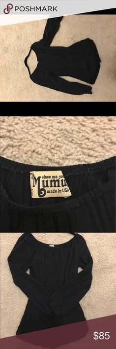 Show Me Your Mumu Show me your mumu black romper Show Me Your MuMu Other