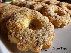 AranyTepsi: Preckedli Sponge Cake Easy, Sponge Cake Roll, Sponge Cake Recipes, Healthy Dessert Recipes, Gluten Free Desserts, Cookie Recipes, Homemade Sweets, Just Eat It, Sweet Cookies