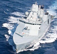 HDMS Iver Huitfeldt- Danish Ship Freed_Dec 2012  Um projeto versátil perfeito para o Brasil!