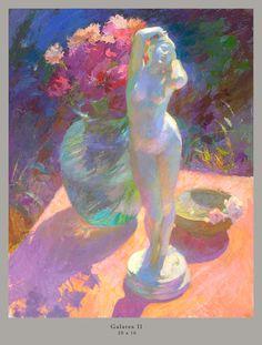 Oil painting entitled Galatea II by John Ebersberger