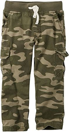 Carters Little Boys Woven Camouflage Pants 5 Green >>> Be sure to check out this awesome product.