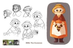 Iris' Garden is a personal project, centered around a girl and her grandmother, on an adventure to rediscover friendship, love, and the power of creation. They go on a journey into their garden and find sights and creatures they had never expected.Chara…