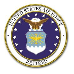 "US Air Force Retired Decal Sticker 3.8"" by Air Force Decals, http://www.amazon.com/dp/B0081K3RAQ/ref=cm_sw_r_pi_dp_GWUqsb0FQZKFW"