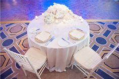 Sweetheart table. #WeddingWednesday   Photo Credit: K Photographie