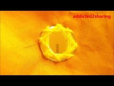 HAND EMBROIDERY : MIRROR WORK #8 - YouTube