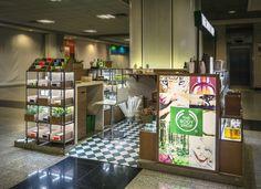 FAL Design | Kiosk The Body Shop  http://www.blogdafal.com.br/