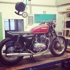 ...still in process ! Kawasaki Z400