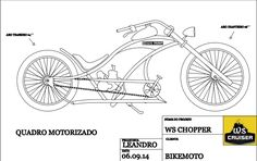 KIT CHOPPER, BICICLETA CHOPPER,BIKE CHOPPER