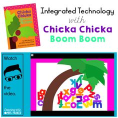 Integrate technology using Chicka Chicka Boom Boom; a hyperdoc created to…