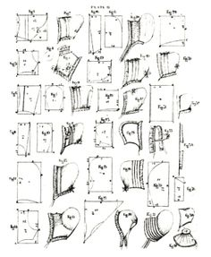 Maida Today: Free Patterns for Slat, Friends, Poke, Cottage, Regency Bonnets and Caps Sewing Patterns Free, Vintage Patterns, Clothing Patterns, Vintage Sewing, Free Pattern, Sewing Ideas, Historical Costume, Historical Clothing, Bonnet Pattern
