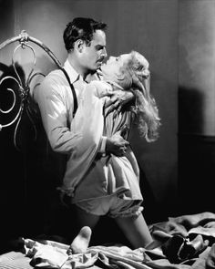 Charlton Heston and Janet Leigh in Touch of Evil (Orson Welles, 1958)