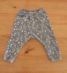 Pantaloncito estampado artesanalmente