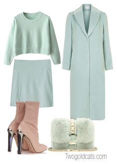 """Untitled #36"" by paulivillalobos on Polyvore featuring Topshop, Alexander McQueen and Valentino"