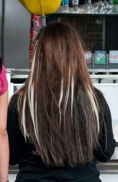 Deena Corteses blonde streaks