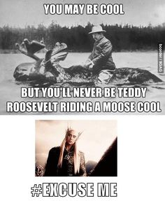 :D Because no one can be as cool and fabulous as Thranduil! :D #hobbit #thranduil