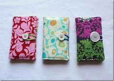 business card carriers OR in a larger size - checkbook covers