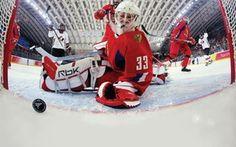 Обои хоккей, vancouver 2010, канада, лед, вратарь, россия