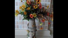 DIY Vase Mixed Media Style