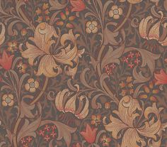 Golden Lily wallpaper by Morris