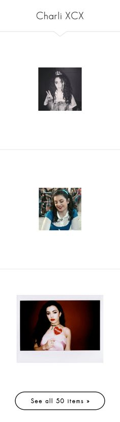 """""""Charli XCX"""" by imawkwardhey ❤ liked on Polyvore featuring pictures, charli xcx, charli, models, girls, marina and the diamonds and pics"""