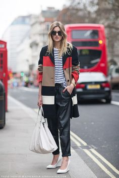 Streetstyle during London Fashion Week, Fall 2013