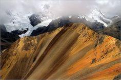 La cordillère des Andes, au Nord du Pérou