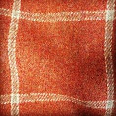"Happy Fabric Friday! With autumn now seemingly in swing in the UK, we're loving this cosy ""Lanark Plaid"" in ""Russet"" by @colefaxandfowler! It's 100% wool and fabulously soft. #textiles #fabric #autumnal"