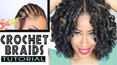 Crotchet Braids With Marley Hair 101  Read the article here - http://www.blackhairinformation.com/general-articles/hairstyles-general-articles/crotchet-braids-marley-hair-101/ #crochetbraids #marleyhair #protectivestyles