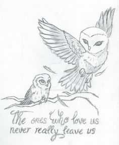 Mother Daughter Owls (Tattoo concept) by Luvella on DeviantArt - Mother Daughter Owls (Tattoo conc Baby Owl Tattoos, Wolf Tattoos, Body Art Tattoos, Bird Tattoos, Cute Owl Tattoo, Circle Tattoos, Tatoos, Owl Tattoo Small, Anchor Tattoos