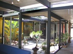 1000 images about eichler home atrium and courtyard ideas for Residential atrium