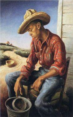 The Waterboy, 1946 Thomas Hart Benton