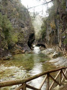Foto de  Ruta del Borosa, hasta la laguna de Valdeazores, Sierra de Cazorla Úbeda Spain
