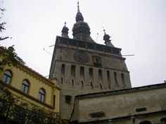 The Clock Tower from Sighisoara tourist attractions and objectives