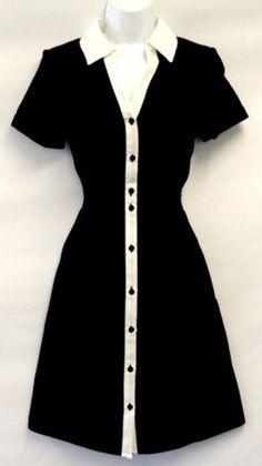 vintage diner style uniform