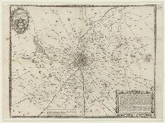 Territorio di Milano 1682 | Giovanni Battista Claricio (alta definizione)