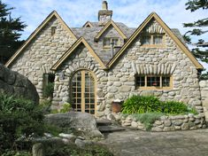 River Rock Cottage, Carmel, California area...