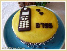 Tarta de Chocolate Negro y Orange Curd