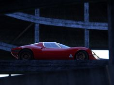 """vintageclassiccars: """"Alfa Romeo Stradale study, design Scaglione at Bertone. """" Scaglione parted Bertone since some years when he designed the Stradale. BTW, the cars were built by Marazzi. Custom Muscle Cars, Alfa Romeo Cars, Old School Cars, Car Tuning, Car In The World, Car Ins, Race Cars, Antique Cars, Classic Cars"""