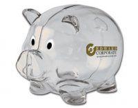 Imprinted Mr. Piggy Bank