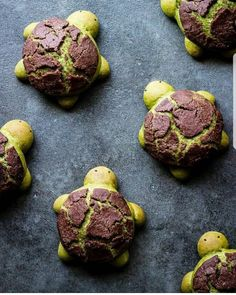 "4,057 mentions J'aime, 67 commentaires - AmourDuCake (@amourducake) sur Instagram : ""YES OR NO?? Matcha turtle bread by @ful.filled Its so cute !!! #turtle #turtles #matcha…"""