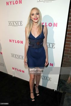 Actor Jordyn Jones at the NYLON Young Hollywood Party at AVENUE Los Angeles on May 2, 2017 in Los Angeles, California.