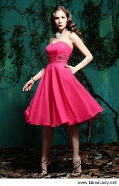 Empire bridesmaid gown