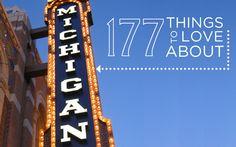 177 Reasons to Love Michigan