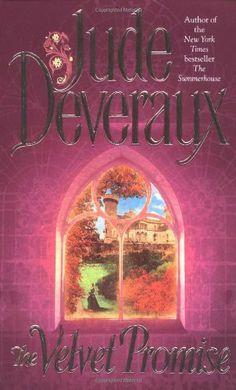 The Velvet Promise by Jude Deveraux, http://www.amazon.com/dp/0671739743/ref=cm_sw_r_pi_dp_TfPpqb19ADSNJ